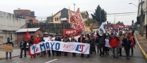 marcha trabajadores