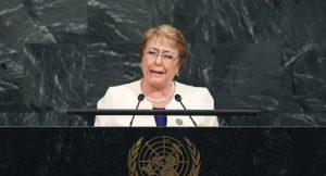 En marzo de 2018, cuando finalice su segundo gobierno, Michelle Bachelet será parte de la Junta Asesora de Alto Nivel sobre Mediación de la ONU