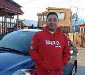 Andrés Sáez Ojeda (32) chofer de Uber